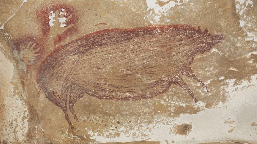 Коя е най-старата пещерна рисунка в света?