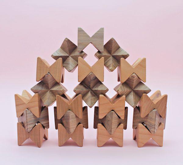 3D дървен пъзел
