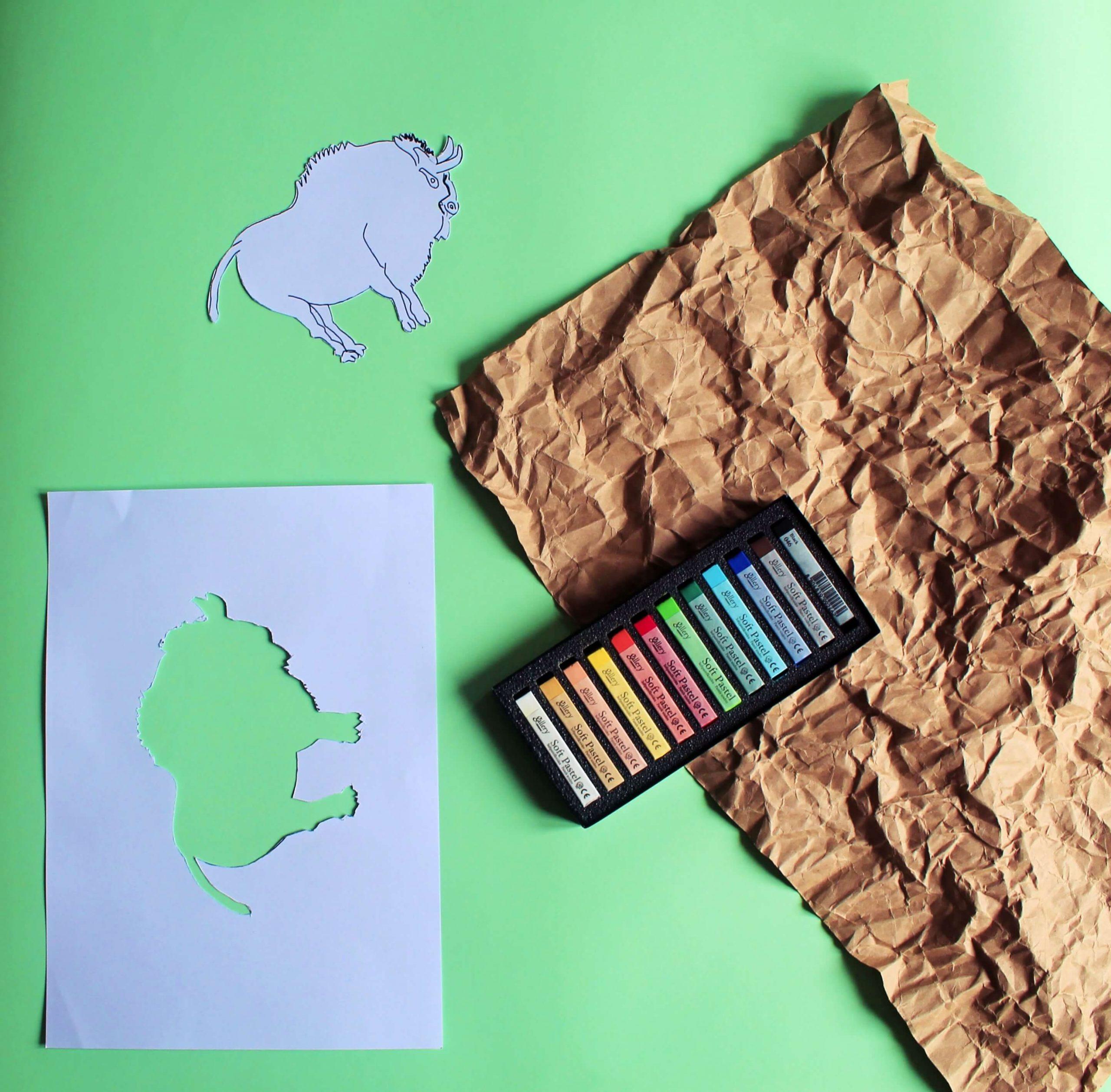Рисувай като праисторически художник